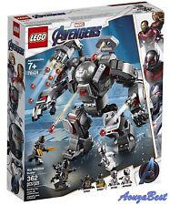 Lego Marvel Superheros 76124  Avengers End Game War Machine Buster Mech Model
