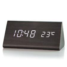 Reloj Led Calendario Alarma Digital Pantalla De Temperatura De Escritorio repetición de alarma proyectos Moderna