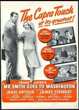 1939 James Stewart photo Mr Smith Goes To Washington movie vintage print ad