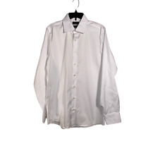 Stant Mens Dress Shirt Customized 100% Cotton Size 0S Work Business Casual