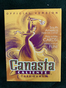 """2001 Parker Brothers """"Canasta Caliente"""" Card Game Official Version COMPLETE"""