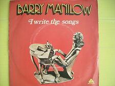 45 GIRI BARRY MANILOW I WRITE THE SONGS/ A NICE BOY LIKE ME NUOVISSIMO 1976