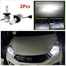 2Pcs Car LED H4 HB2 Hi/Lo Dual Bulb Fog Driving Headlight Kit 160W 16000LM 6000K