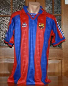 Barcelona 96/97 Football Soccer Home Shirt Jersey