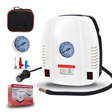 Portable 12V Mini Air Compressor Auto Car Electric Tire Inflator Pump Set 160PSI