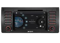 "Camera+7"" BMW 5 Series E39 X5 E53 Car GPS Stereo Radio Navigation HD LCD Screen"
