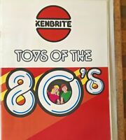VINTAGE KENBRITE AUSTRALIA 1980 TOY FAIR CATALOG MARVEL DC REMCO COX PLANES +++