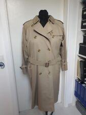 Original Burberry London Damen Trenchcoat Mantel Beige Gr. 42