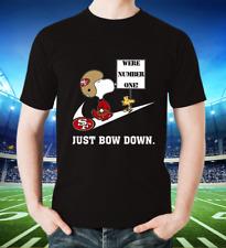 Nfl Team Football Peanuts Snoopy Joe Cool San Francisco 49ers T shirt Unisex