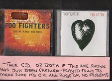 Foo Fighters : One By One (2002) and Skin And Bones TWO CD albums