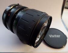 Vivitar PK A/R 28-80mm 1:3.5-5.6 MC Macro Focusing Zoom Camera Lens
