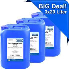 3x20l LPTLS 10W40 Motoröl für LKW und Busse mit DAF Long Drain 60 Liter