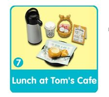 Re-Ment Bread & Butter #7, Tom's Cafe Lunch, 1:6 Barbie scale kitchen food minis