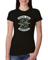 Southside Serpents Womens Junior Fit Riverdale Tee Graphiv TV T-Shirt