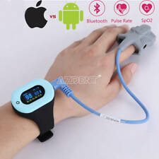 GER Wrist Bluetooth Pulse Oximeter OLED Display APP OxyCare for Android & IOS
