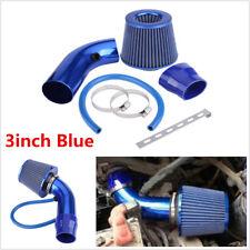 """3"""" Universal Car Air Intake Tool Case Short Racing Alumimum Pipe + Filter+ Clamp"""