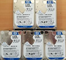 "5 x 2TB Western Digital 2.5"" WD20NPVZ Blue SATA Hard drives (15mm)"