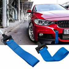 JDM Blue Racing Tow Hole Strap For BMW 2/3/4/5 Series F30 F32 F10 2012-up