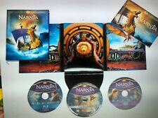 Chronicles of Narnia The Voyage of the Dawn Treader 3-Disc Blu-Ray/Dvd +photo