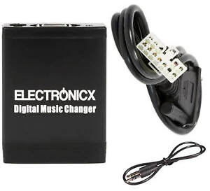 Adapter USB SD Aux Toyota Lexus 5+7 Pin Large