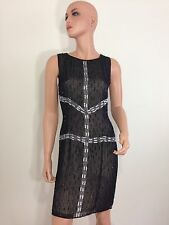 Black and White sequin Dress beaded flapper gatsby 20s flapper style silk Small