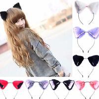 Cosplay Party Cat Fox Long Fur Ears Anime Neko Costume Hair Clip Orecchiette MAD
