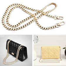ac1c1d4502 Metal + Leather Shoulder Bag Replacement Chain Strap for Women Handbag Purse  lsd