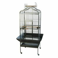 2020  new Bird Cage Stand Wheels Antique Aviary Budgie Cockatiel Parrot Pet
