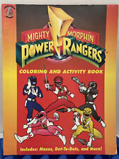 MIGHTY MORPHIN POWER RANGERS Coloring & Activity Book (1994) Unisystems (unused)