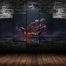 Framed ASUS ROG Republic of Gamers PC Gaming 5 Piece Canvas Print Wall Art Decor