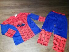 Spiderman-Lizenzkostüm für Kinder rot-blau Cod.314684
