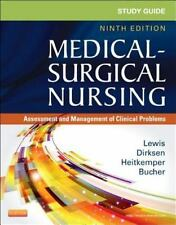 """""""GOOD COND"""" Medical-Surgical Nursing STUDY GUIDE 9TH US EDITION (2013)"""
