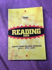 Reading Festival Carling Weekend: Reading Festival 2009 tour programme UK