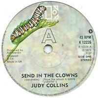 "Judy Collins – Send In The Clowns  7"" Vinyl 45rpm"