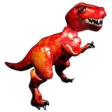 Giant 5ft T-Rex Dinosaur AirWalker Foil Balloons Jurassic Party World Park Life
