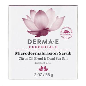 Derma E Microdermabrasion Scrub 2 oz 56 g.