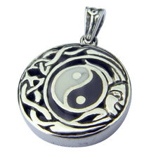 Sterling Silver (925)  Ying  Yang  Pendant  !!        Brand  New  !!