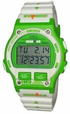 Timex Ironman Triathlon Sport Men's Green White Digital Watch TW5M03700