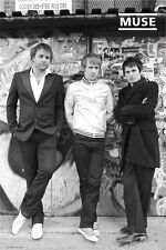 "MUSE POSTER ""GROUP"" LICENSED ""BRAND NEW"" MATTHEW BELLAMY, WOLSTENHOLME, HOWARD"""