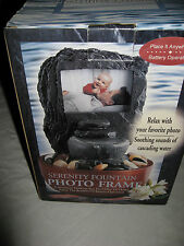 Serenity Fountain Photo Frame Battery Operated