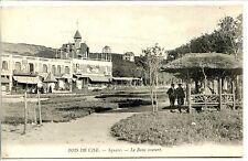 CP 80 SOMME - Bois de Cise - Square - Le Banc couvert