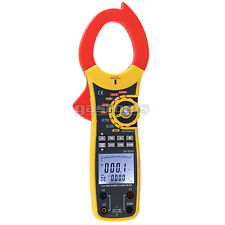 Watt Clamp Meter Multimeter CAT III - CAT IV