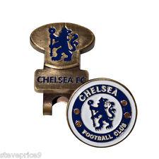 CHELSEA FC HAT / VISOR / CAP CLIP AND GOLF BALL MARKER