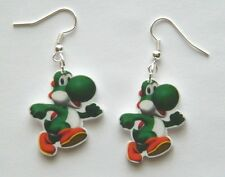 New Super Mario Bros. Yoshi Nintendo Earrings