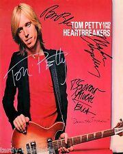 Tom Petty 8 x 10 Autograph Reprint  Free Fallin  Refugee  American Girl  Rebels
