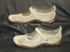 Merrell Circuit MJ Breeze women's yellow mesh w/suede mary jane shoes sz 8.5