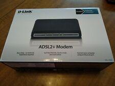 D-Link DSL-520B 1-Port 10/100 Wired Router (modem)