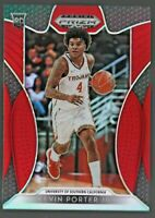 Kevin Porter Jr 2019-20 Panini Prizm Draft Red Refractor RC Rookie # 30