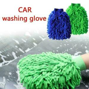 Car Wash Washing Microfiber Chenille Mitt Auto Cleaning L0Z S8R0 Clean 0 F4S0