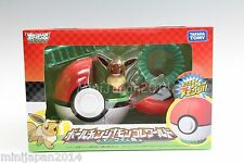 Pokemon diorama pokeball figure Eevee set TAKARA TOMY Japan NIB